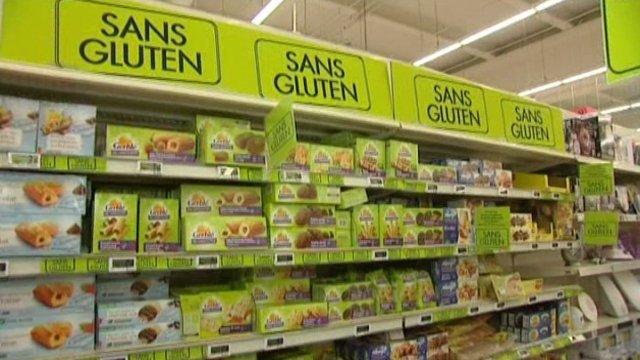 produits de régime sans gluten