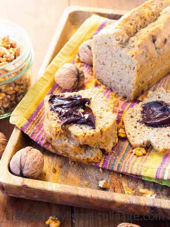 pain sans gluten cuit à la vapeur