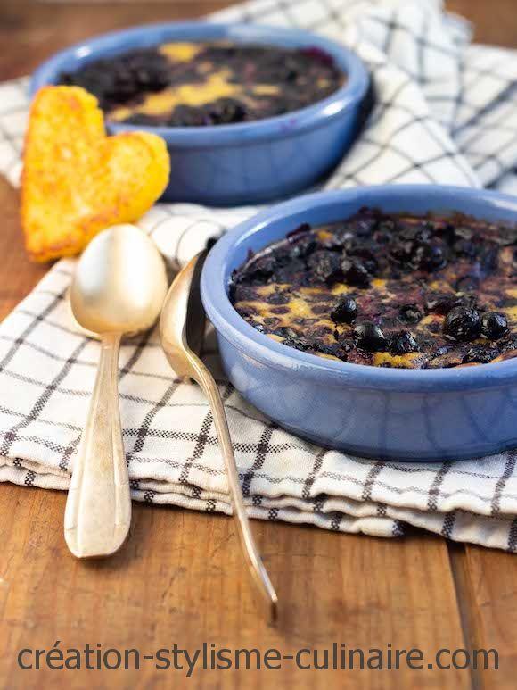 clafoutis sans gluten myrtilles