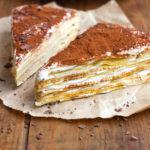 Recette gâteau de crêpes sans gluten façon tiramisu