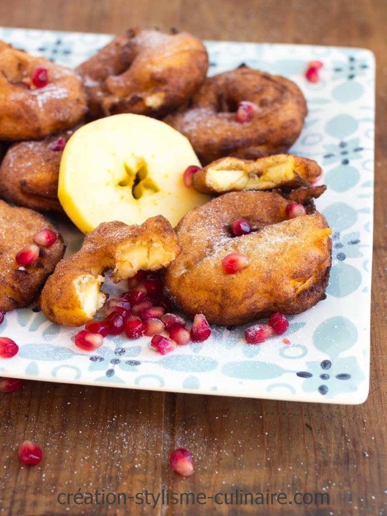 beignets sans gluten de pommes