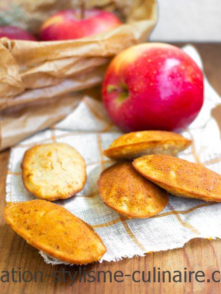 madeleines sans gluten pommes